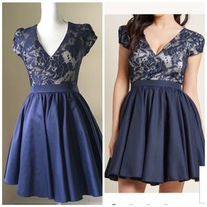 Chi Chi London Navy Lace Party Dress 4